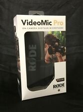 Rode VideoMic Pro w/ Rycote Lyre Suspension Mount VIDEOMIC PRO-R VMPR Demo Unit