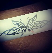 Tribal butterfly Decal Funny Car Truck vinyl Sticker racing window illest stance