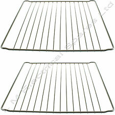 2 x 365mm x 397mm Strong Wire Oven Shelves Shelf Rack Grids for INDESIT Cookers
