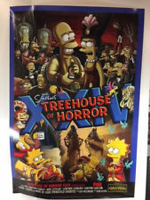 "2013 THE SIMPSONS, TREEHOUSE OF HORROR XXIV, FOX PROMOTIONAL POSTER 39"" X 27"""