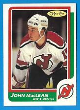 1986-87 O-Pee-Chee #37 JOHN MacLEAN (ex-mt) New Jersey Rookie