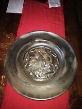 Scottish metal Display Dish c1900