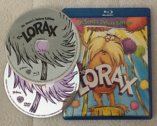 Dr. Seuss The Lorax Deluxe Edition (Blu-ray/DVD, 2012, 2-Disc) TV Original 1973