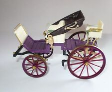 BRUMM Italy 8 plastic model carriage horse cart Spyder 1850 open aperto Modell