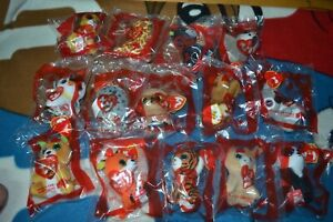 McDonalds 2021 TY Beanie Boo's Happy meal set of 14 sealed toys quick free ship