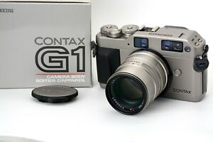 MINT [UNUSED] in Box Contax G1 Camera w/90mm Carl Zeiss  Sonnar T* f/2.8 Lens