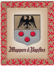113 Papal coats of arms Pope Pius XI VATICAN BLASON OLYMPIC GAMES FLAG CARD 1936