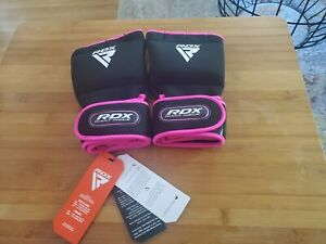 RDX Ladies Boxing Inner weightlifting Gym Gloves Hand Wraps MMA Women Pink new