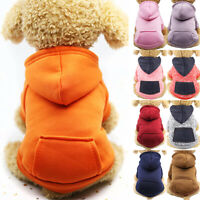 Haustier Welpe Katze Kleidung Hunde Taschen Hoodie Kapuzenpulli Pullover Warme