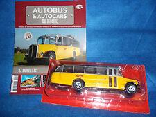 n° 8   SAURER L 4 C SUISSE  1949 Autobus et Autocar du Monde Entier 1/43 Neuf