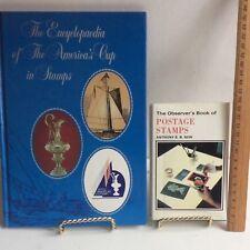 Postage Stamp Books Observers Warne & America's Cup Solomon Island Lot X 2