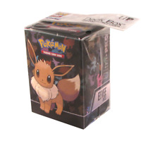 Ultra Pro Pokemon TCG Eevee Deck Box Card Storage/Holder With Divider