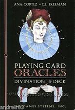 Tarot Cards Playing Card Oracles Divination Deck 52 cards instruction Taro TC43