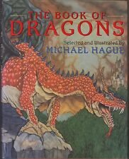 VG 1995 HC in a dj First Edition Book of Dragons by Michael Hague in Great Color