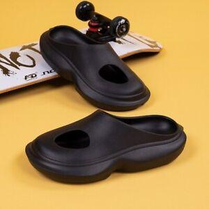 Fashion Slippers Kanye Eva Soft Sole Slide Women Thick Platform Shoes Indoor
