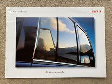 1998 Isuzu Trooper Car Brochure (UK)