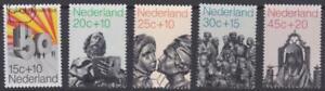 Netherlands 1971 - B470-74 Semi-postals (Sculptures) Set of 5 - Used
