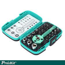 Pro'sKit - Caja con herramientas de precisión 22pzas - Llave multiuso + Puntas