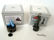 PHB Midwest of Cannon Falls Hinged Box Elvis Presley Set of 2 w/ Elvis & Shoes