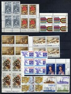 Canada Multiples 1969 - 2000 Used 2 Scans L#5906