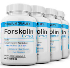 x4 Pure Weight loss Extreme 800mg FORSKOLIN Coleus Forskohlii 20% extract