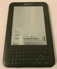 Amazon Kindle D00901 WiFi eBook eReader -- Broken / Crack Screen - Untested