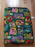 Teenage Mutant Ninja Turtles - Kids Toddler Bed Comforter Blanket
