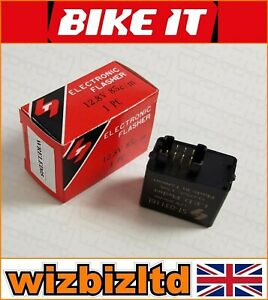 7 Broche Relais Pour Clignotant LED Suzuki Vlr 1800 Intruder M1800 R WRELED05