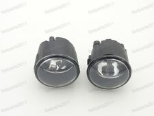 Front Fog Lamp Lights with Bulbs Pair For Nissan X-Trail 2007-2013