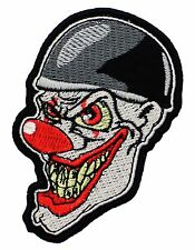 New Joker Red Nose Smile Horror Scream Friday The 13th Cartoon Iron On Patch P68