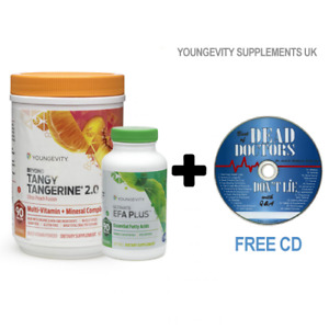 Youngevity Healthy Body Start Basic Pack:Beyond Tangy Tangerine 2.0 + EFA