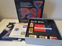 VINTAGE 1987 PSI BOARD GAME BY PARADIGM - COMPLETE  PSYCHOLOGY SLANDER INTUITION