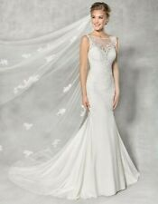 Wed2b Anna Sorrano Georgina Size 8 Wedding Dress