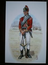 POSTCARD 5TH NORTHUMBERLAND FUSILIER OF FOOT - LIGHT INFANTRY MAN - AMERICAN WAR