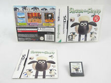 Shaun The Sheep DS Nintendo Complete PAL