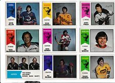 WHA O-PEE-CHEE OPC COMPLETE SETS 1974-75,1975-76,1976-77,1977-78 NM+ NO CREASES!