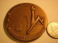 Israel Medal 1965 HEBREW UNIVERSITY 40TH ANNIVERSARY Jerusalem    , Judaic