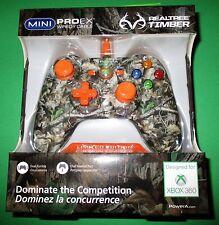 Xbox 360 Mini ProEx Realtree Timber Max-4 L.E. Controller-Factory Sealed!!