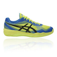 Asics Mens Volley Elite FF Shoes Blue Green Sports Handball Netball Breathable