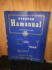 Stancor Hamanual Fifth Edition Original Copy Distressed.