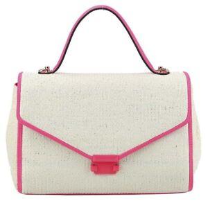 Stylish Straw Texture Retro Classic Clutch Shoulder  Handbag Elegant Feminine