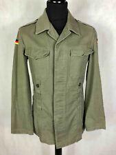 Ejército Vintage Años 70 Camisa de Hombre Militar Alemana Sz.m - 48 #4