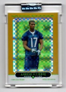 2005 topps chrome gold x-fractor (UNCICULATED) AIRESE CURRIE 337/399 (BGS 10 ?//