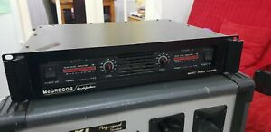 Mcgregor Amplifier Heavy Duty 2 Channels