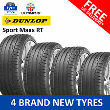 4X New 215/45/17 Dunlop Sport MAXX RT  91Y XL 2154517 215 45 17 (4 TYRES)