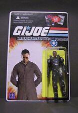 "Custom GI Joe figure and package of ""Techno Battlefront"" Rhodey from IRON MAN"