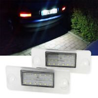 Directly Fit For Audi A4 B5 1995-2001 Canbus LED License Plate Lights Tail Lamp