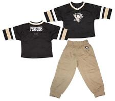 Reebok Pittsburgh Penguins Kids 3/4 Sleeve Hockey Jersey and Pants Set 12M - 4T