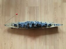 RC Schlachtschiff Bismarck ferngesteuertes Kriegsschiff Schiff Replika 3/4 Meter