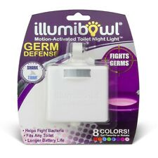 Illumibowl Germ Defense Motion Activated Toilet Night Light, Helps Fight Germs!